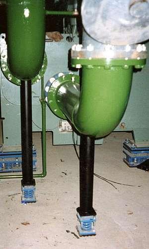 Amortecedor de vibração para tubulação