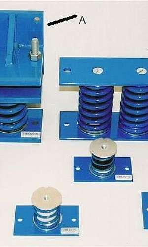 Amortecedor de vibração tubulação