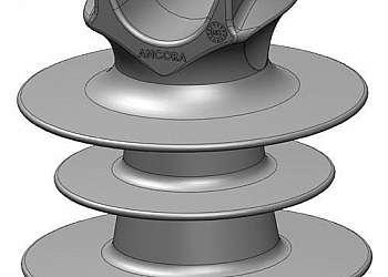 Isolador tipo pino polimérico