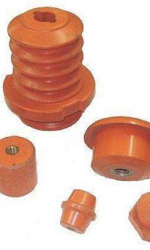 Isolador pilar polimérico