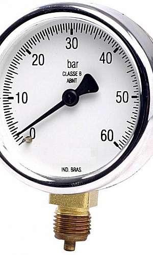 Manômetro Analogico